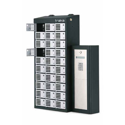 Traka Modular Lockers For Asset Management By RFID Detection