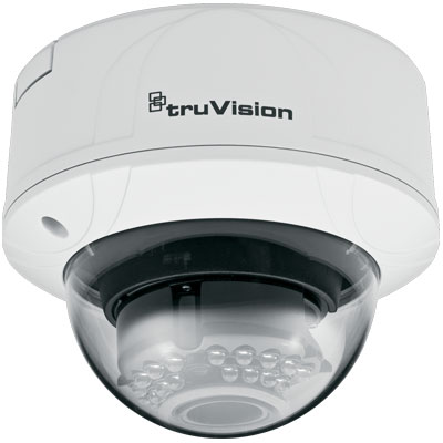 TruVision TVD-M2210V-2-N 2MP Color/Monochrome Indoor Vandal IP Dome Camera