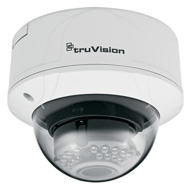 TruVision TVD-M3210V-2-N 3MP Color/Monochrome Indoor Vandal IP Dome Camera
