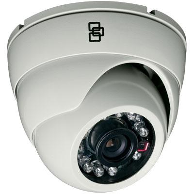 TruVision TVD-TIR6-SR-P 600 TVL Color/Monochrome IR Dome Camera