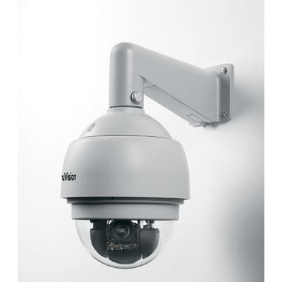 TruVision TVP-12DN-E Mini PTZ Color/Monochrome Outdoor Dome Camera