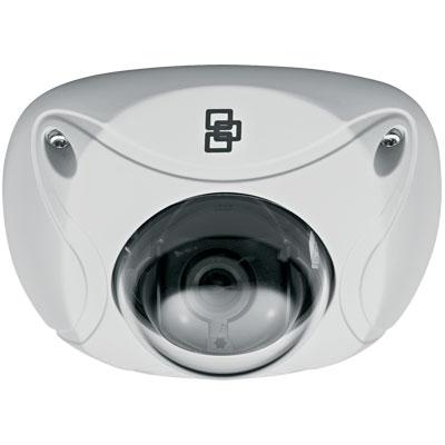 TruVision TVW-3107 1.3MP Color/Monochrome Mini Vandal IP Dome Camera