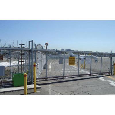 Tymetal Corp Fortress Structural Cantilever Slide Gate Features Semi-enclosed Double Tracks