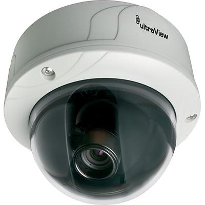 UltraView UVD-EVRDNR-VA2-P 540 TVL True Day/night Rugged Dome Camera