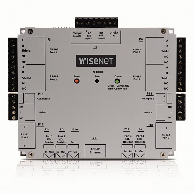 Hanwha Techwin V1000 Centralized Controller