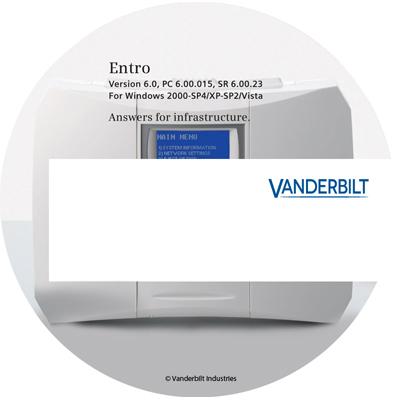 Vanderbilt Entro SW SE SiPass Entro Software - Standard Edition