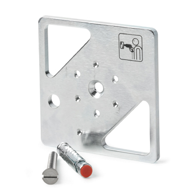 Vanderbilt GMXP0 Mounting Plate For Seismic Detectors