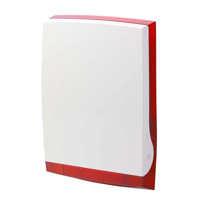 Vanderbilt ISRW6-12R Wireless Outdoor Siren In Red