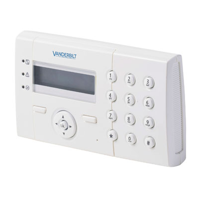 Vanderbilt (formerly known as Siemens Security Products) SPCK422.100 Intruder Alarm System Control Panels & Accessory With LCD Keypad With 2 X 16 Characters