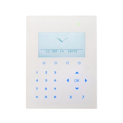 Vanderbilt SPCK521.100-N Compact Keypad With Graphical Display, Card Reader And Audio