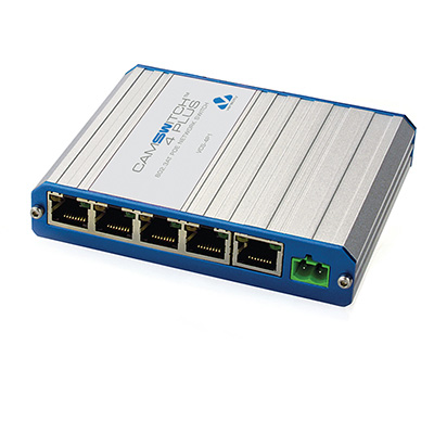 Veracity VCS-4P1 CAMSWITCH 4 Plus PoE Network Switch