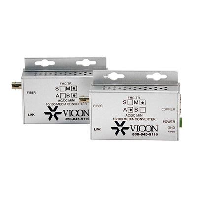 Vicon FMC-TRM-A Mini-media Converter Utilizing ST Connectors