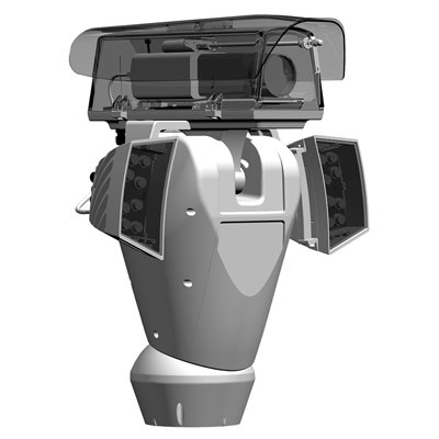 Videotec ULISSE RADICAL - outdoor HD PTZ camera station with top performance cameras and lenses