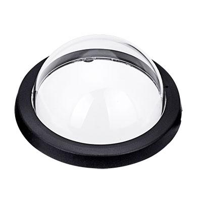 VIVOTEK AC-227 Transparent Cover Assembly (Black - Plastic Case)