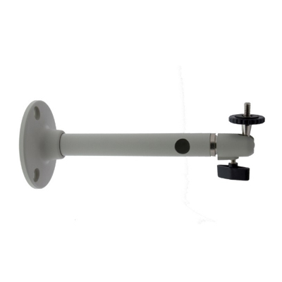"""Eneo WD-30 Wall Mount Bracket With Ball Joint, 1/4"""" Camera Fixing Screw, Pantone Cool Grey 1C"""