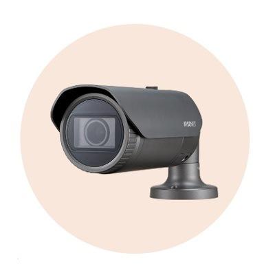 Hanwha Techwin America XNO-L6080R 2M Network IR Bullet Camera