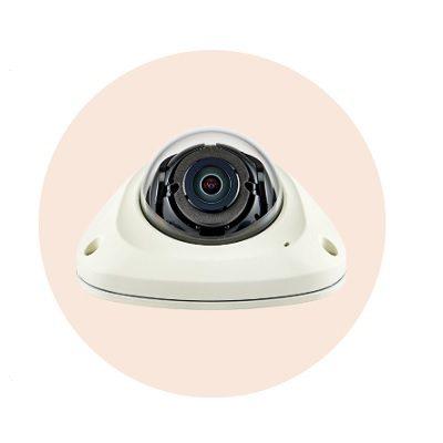Hanwha Techwin America XNV-6012 2M Mobile Vandal-Resistant Network Flat Camera