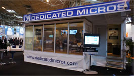 AD Group's Dedicated Micros And AD Network Video IFSEC 2011 Display