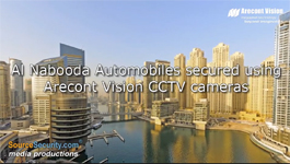 Al Nabooda Automobiles, Dubai secured with Arecont Vision's Panoramic Day/Night CCTV cameras