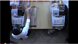 Arecont Vision 5-megapixel Camera View Of Bakery Checkout Counter In California