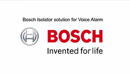 Bosch Isolator solution for Voice Alarm