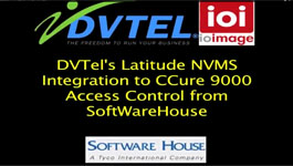 Demonstration Of DVTEL's Latitude NVMS Integration With The CCURE9000