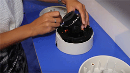 H4 SL Dome Camera - Modular Design Demonstration