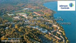 Roger Williams University, Rhode Island, Secured with Johnson Controls P2000 Security Management System