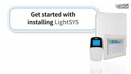 RISCO LightSYS Flexible Hybrid Security System - Assembly, Installation & Setup