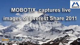 MOBOTIX M12 World's Highest Webcam installed at Mount Everest to Capture Live Images