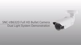 Demonstration Of Sony SNC-VB632D Full HD Bullet Camera - Dual Light System