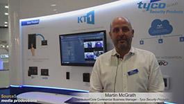 Tyco Security Products Displays Kantech KT-1 One Door IP Controller At IFSEC 2015