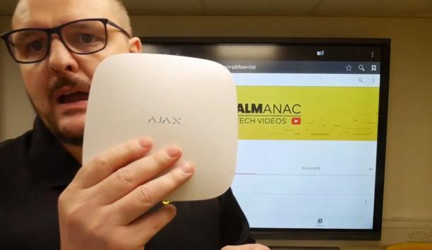 Oprema Demonstrates The Ajax Wireless Intruder Alarm