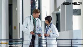 Aperio Wireless Locks Secure Medical Institutions