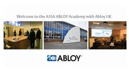 Abloy UK Academy Presentation