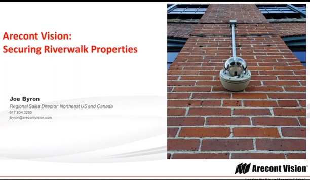 Arecont Vision Case Study - Securing Riverwalk Properties, Lawrence, MA