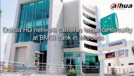 Dahua HD network cameras enhance security at BMCI bank in Morocco