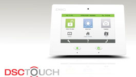 DSC Touch - 7 Inch 'All-in-One' TouchScreen, An Innovative Smart Panel