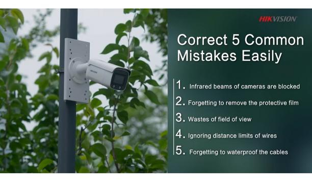 5 Common Mistakes When Installing Video Security System
