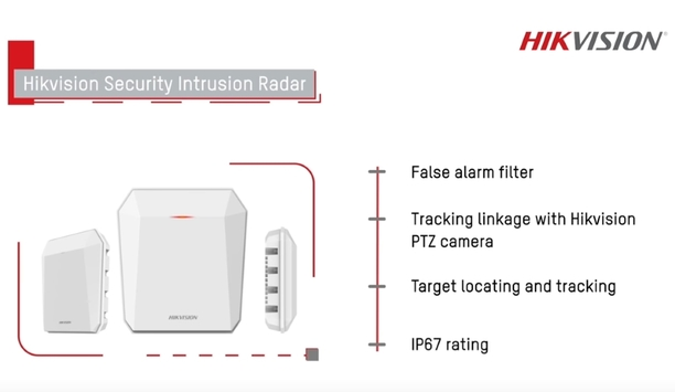 Hikvision Demonstrates Security Intrusion Radar