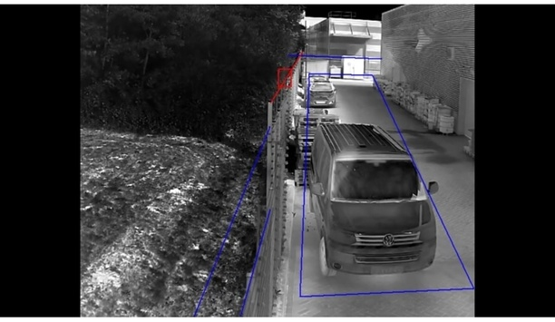 Smart Function of Hikvision Thermal Camera - Line Crossing