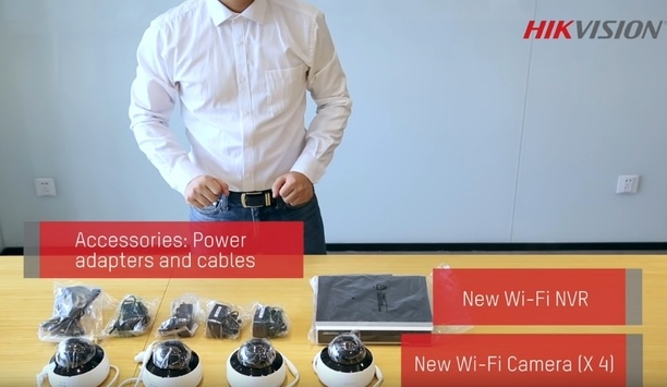 Hikvision installation guide - new Wi-Fi kit