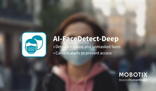 MOBOTIX 7 App Features AI Face Detect Deep To Detect The Faces Of The People Inside The Scene