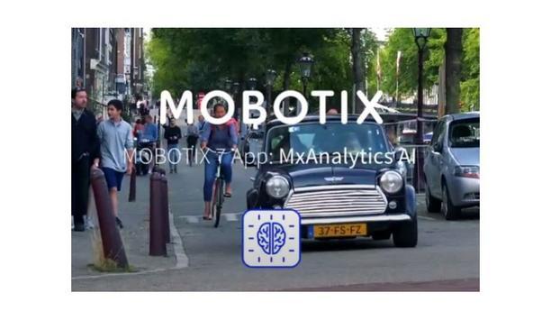 MOBOTIX 7 App - MOBOTIX Analytics AI