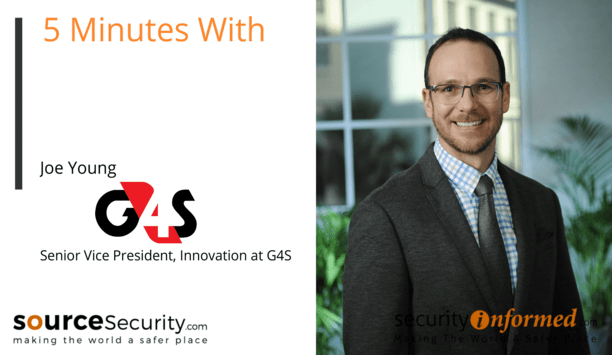 Temperature Solutions, PPE Detection and Remote Working: '5 Minutes With' Video Interview with Joe Young from G4S