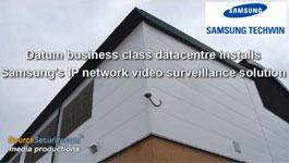 Samsung 7 S&P 5200 1.3 MP Pan Tilt Zoom Dome Cameras to Secure Datum Data Center