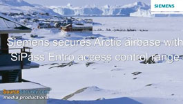 Siemens SiPass Entro  Access Control System Secures Greenland's Thule Air Base