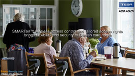 SMARTair™ Wireless Access Control Brings Flexibility & Security To Danish Care Home