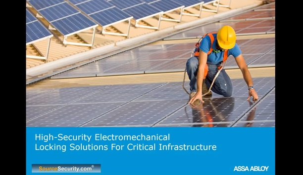 High Security Electromechanical Locking Solutions for Critical Infrastructure - SourceSecurity Webinar