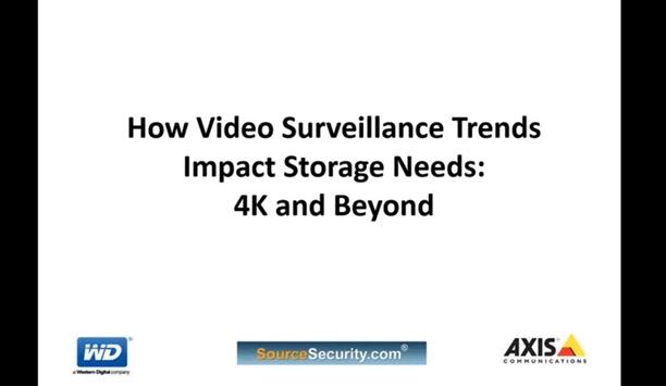 How Video Surveillance Trends Impact Storage Needs - SourceSecurity.com Webinar